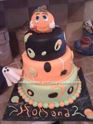 Coolest Halloween Pumpkin Birthday Cake Pumpkin birthday cakes