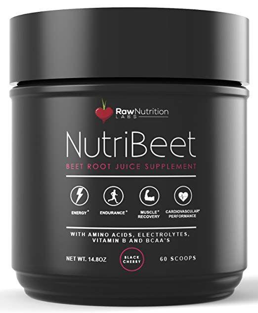 Raw Nutrition Labs NutriBeet Nitric Oxide Optimizer Organic