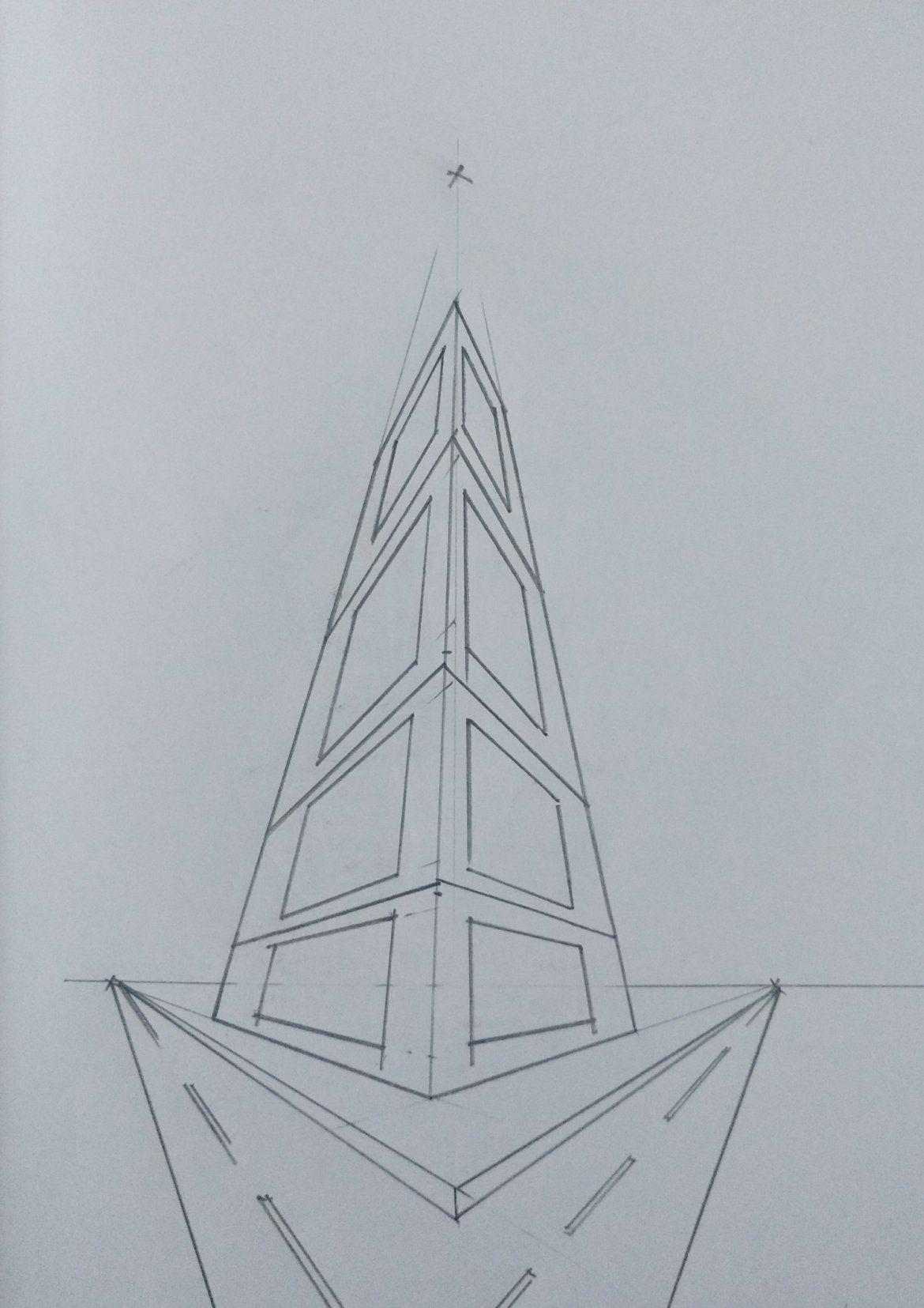 Three Point Perspective Drawing The Ultimate Step By Step