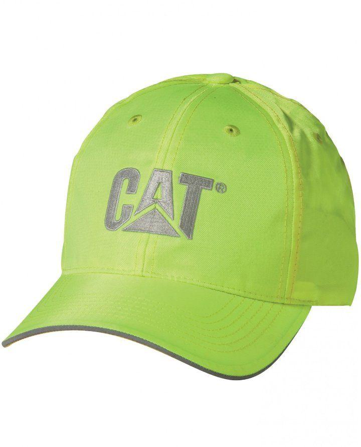 907f397d589f8 Caterpillar C1128101 HI VIS T M CAP   Mens Caps (One Size) (Yellow ...