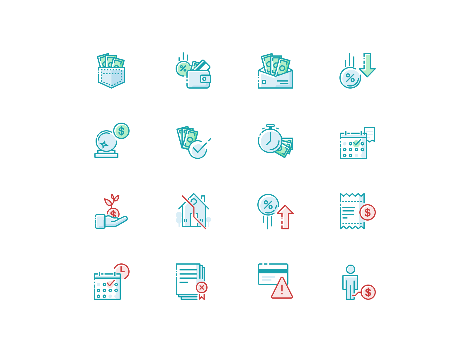 AARP Icon Illustrations