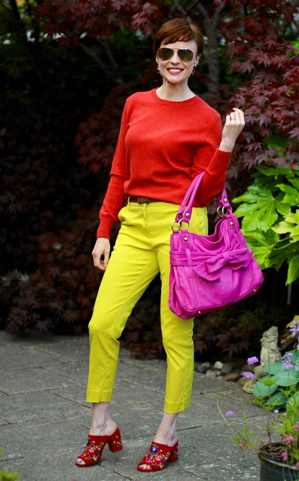 Colour Blocking In 3 Easy Steps Color Blocking Outfits