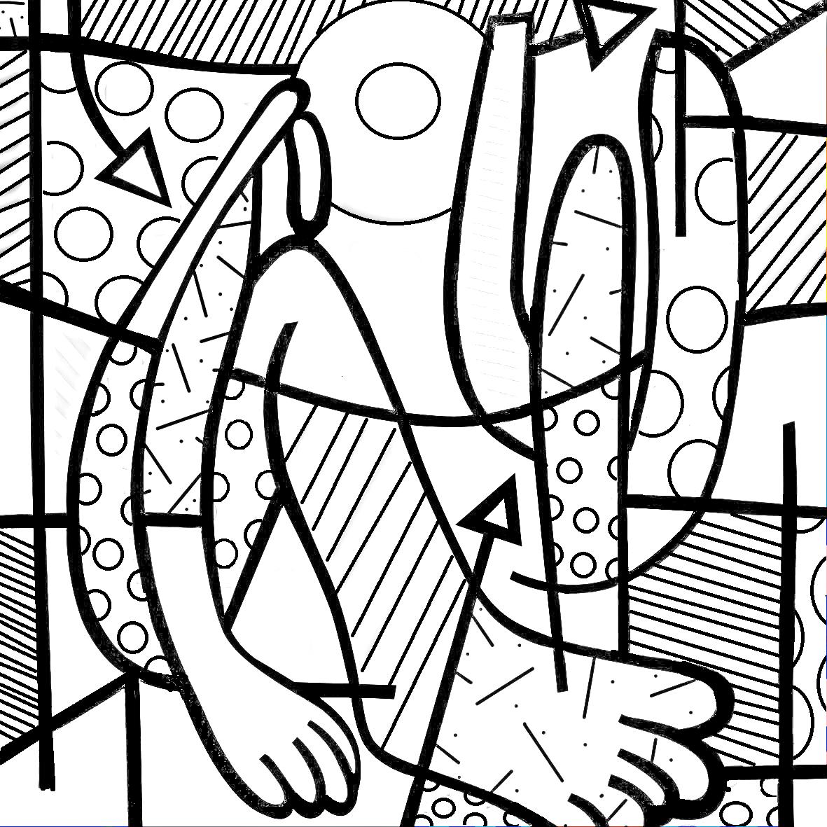 Paraiso Do Educando Desenhos Do Romero Britto Atividades De