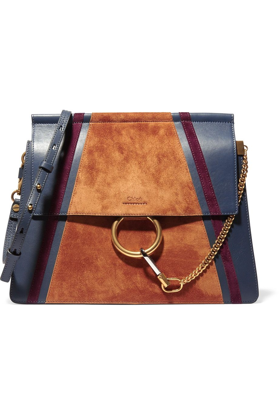 Enjoy Cheap Online Chloé caramel brown faye patent and leather shoulder bag Purchase Your Favorite 2iRCAlhjnU