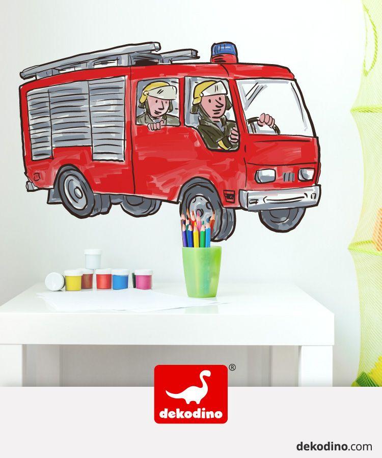 Pin on Wandtattoo Fahrzeuge Kinderzimmer Jungen Deko