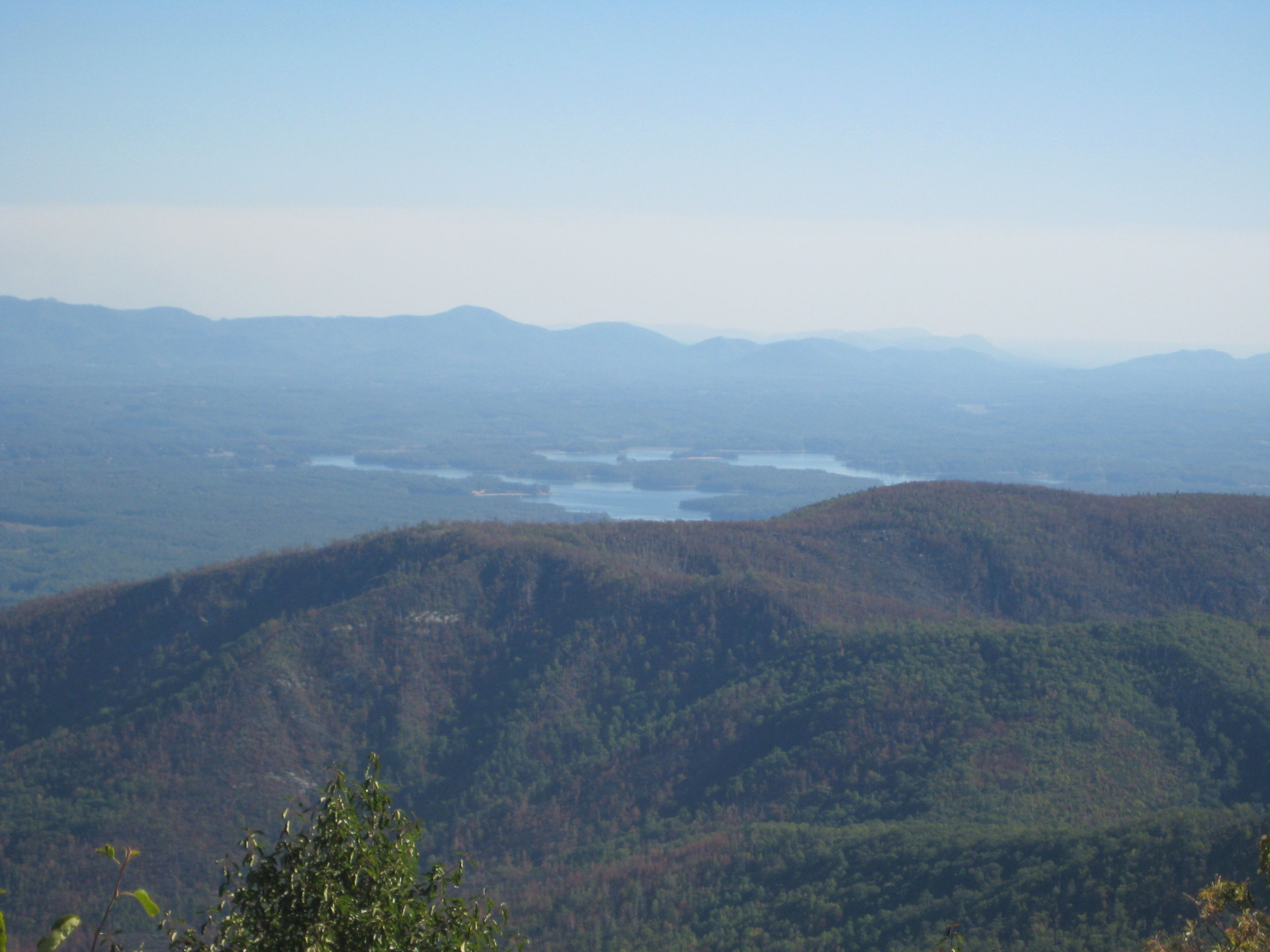 view of lake james from the top of table rock near morganton nc rh pinterest com