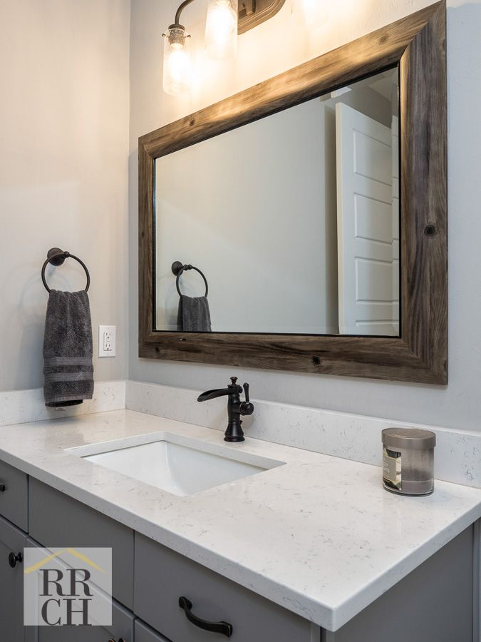 Rectangle Undermount Sink Oil Rubbed Bronze Fixture White Quartz