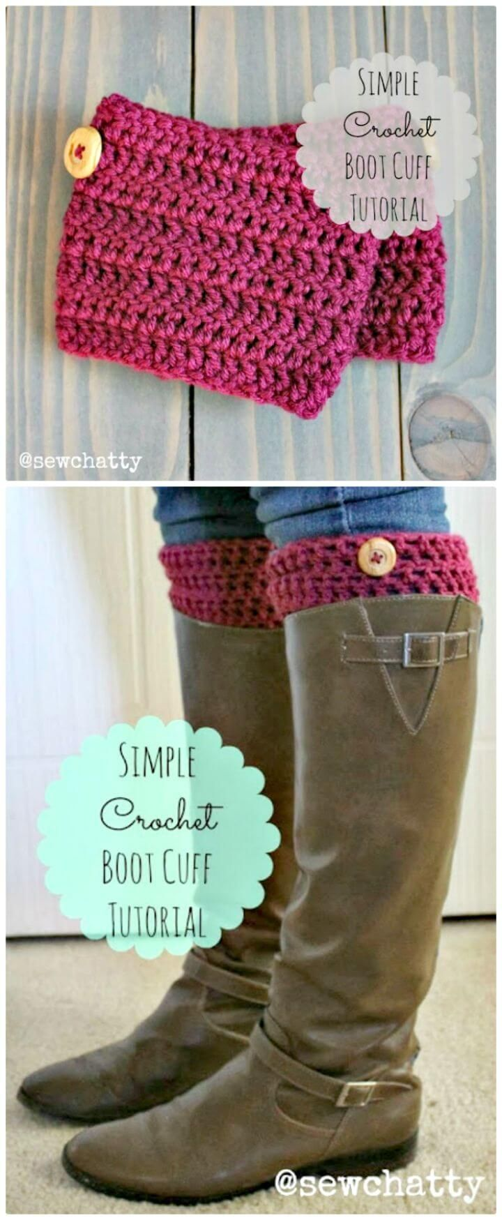 Crochet Boot Cuffs | 24 Free Crochet Patterns #bootcuffs