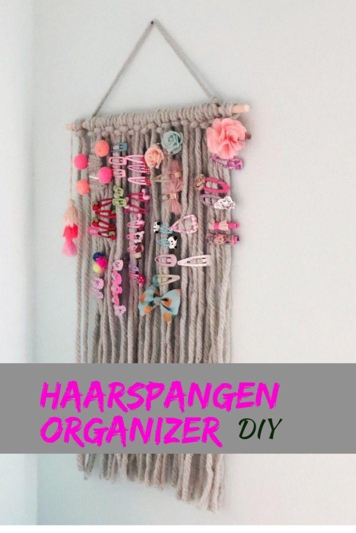 Haarspangenhalter DIY    Ordnung mit Kindern  order with children Haarspangenhalter DIY    Ordnung mit Kindern  order with children