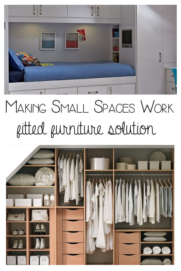Best Making Small Spaces Work Fitted Furniture Fitted 640 x 480