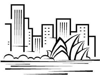Dibujos de Edificios Para pintar decorar  Edificios Imgenes
