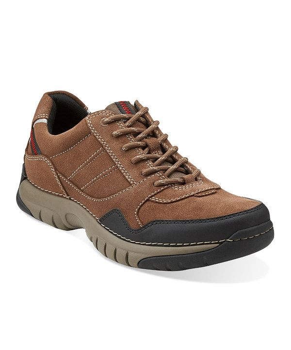Take a look at this Brown Suede Roebling Asym Lace-Up Shoe - Men on zulily today!