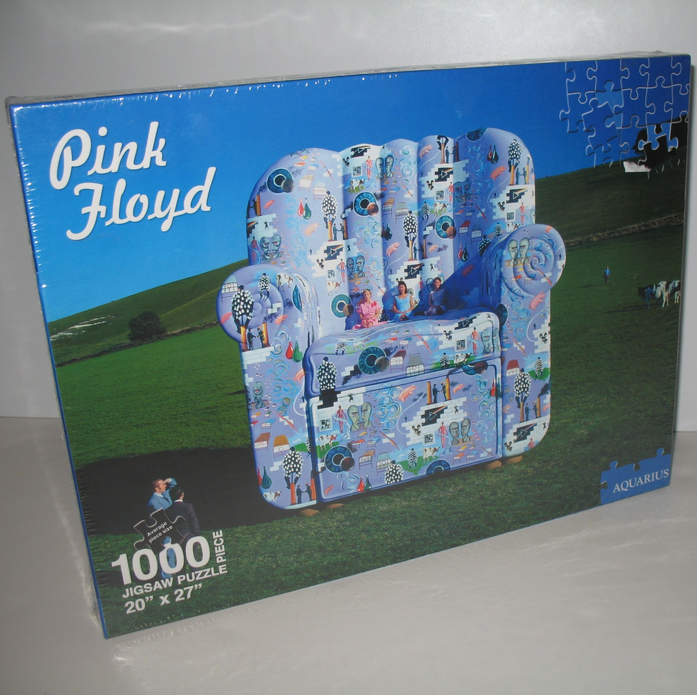 Enjoy Learning Us Map Puzzle%0A Pink Floyd   th Anniversary Sampler album      piece jigsaw puzzle  Listed  on eBay for