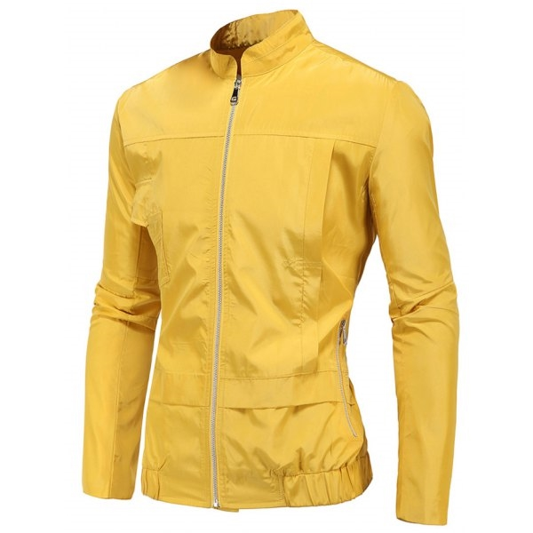 26.14$  Watch here - http://diu23.justgood.pw/go.php?t=202968108 - Zip Up Stand Collar Polyester Windbreaker Jacket