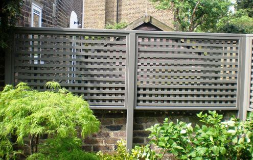Contemporary Trellis Panels   Wooden Fence Trellis Panels   Essex UK, The Garden  Trellis Company