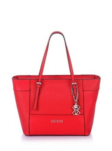 Guess Delaney Mini Tote Crossbody Candy Red   Tote bag, Bags