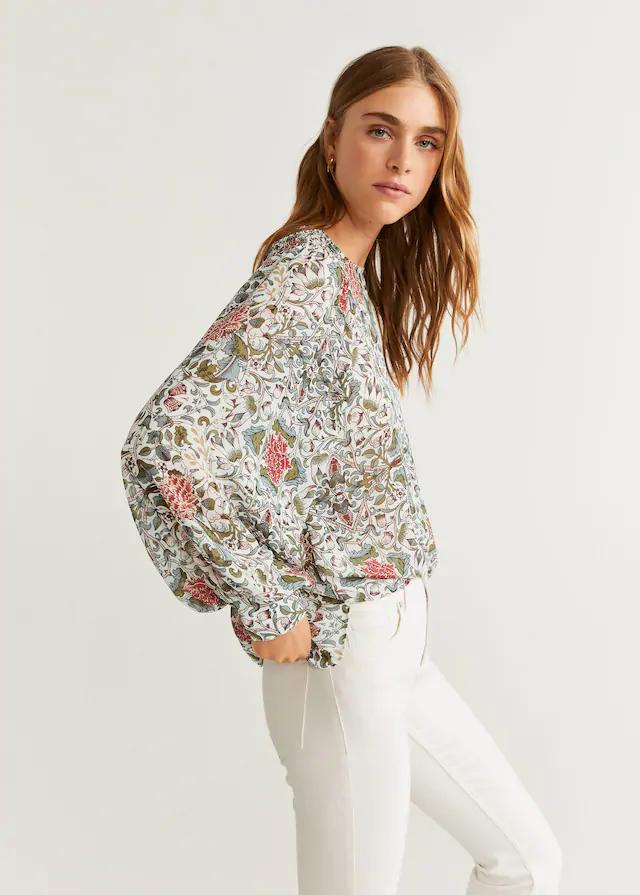 Moda Online Floral Print Blouses Women Blouses For Women