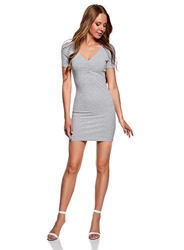 Comprar Ofertas de oodji Ultra Mujer Vestido de Silueta Ajustada con 66ced90e62c
