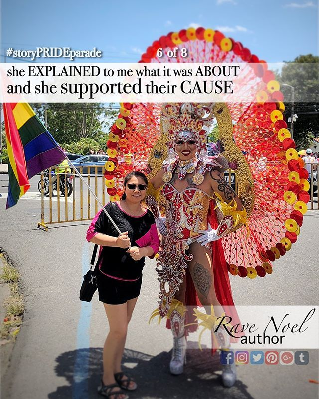 STUMBLED upon a PRIDE parade  Last Sunday we were having a good time around the park when we stumbled on a PARADE. I did not know what is was until my wife explained it to me. She said she supported their cause and I think it is REASONABLE. I didnt think their was something worth to photograph but it turned out there were lots of colors and DIVERSITY. Participants appeared in multi-colored COSTUME displaying a wide-range of character. The electricity they project was PROFOUND and tastefully enjoyable.  @RaveNOELAuthor  #RaveNOELAuthor #raveSTORY  #storyPRIDEparade  . . . . #dailyshots #dailyshot #dailyupdates #dailyupdate #dailystory  #dailypicture  #bloggernation #bloggerpost  #dailypost #dailyposting #dailypics #dailypic #livingitup  #livingthelife #livingmylife  #illestgrammers #_heater #instamagazine_ #quotesforyou  #livingmydream #livingwell #livinglife  #bloggervibes #bloggerslife   #quotesgram  #prideparade #prideparadecr