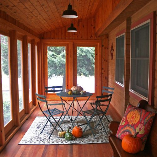 Houzz Home Design Ideas: 9,000 Enclosed Porch Home Design Design Ideas & Remodel