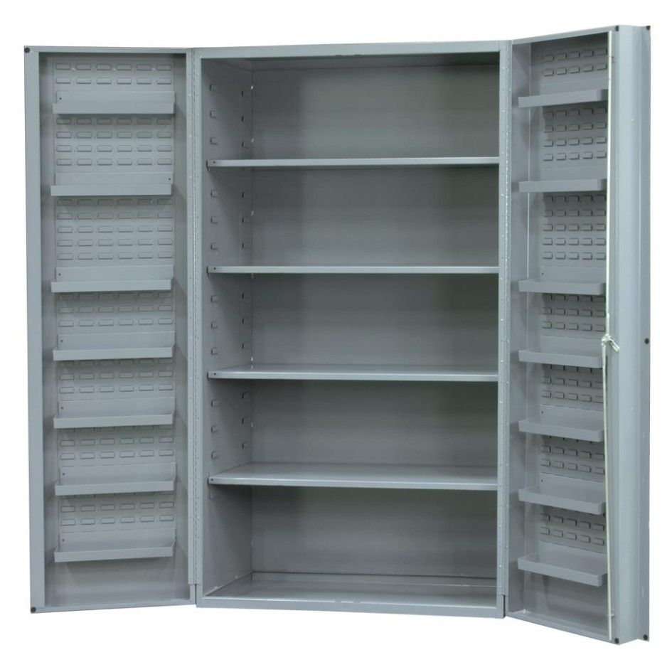 Metal Storage Cabinets With Doors And Shelves Metal Storage