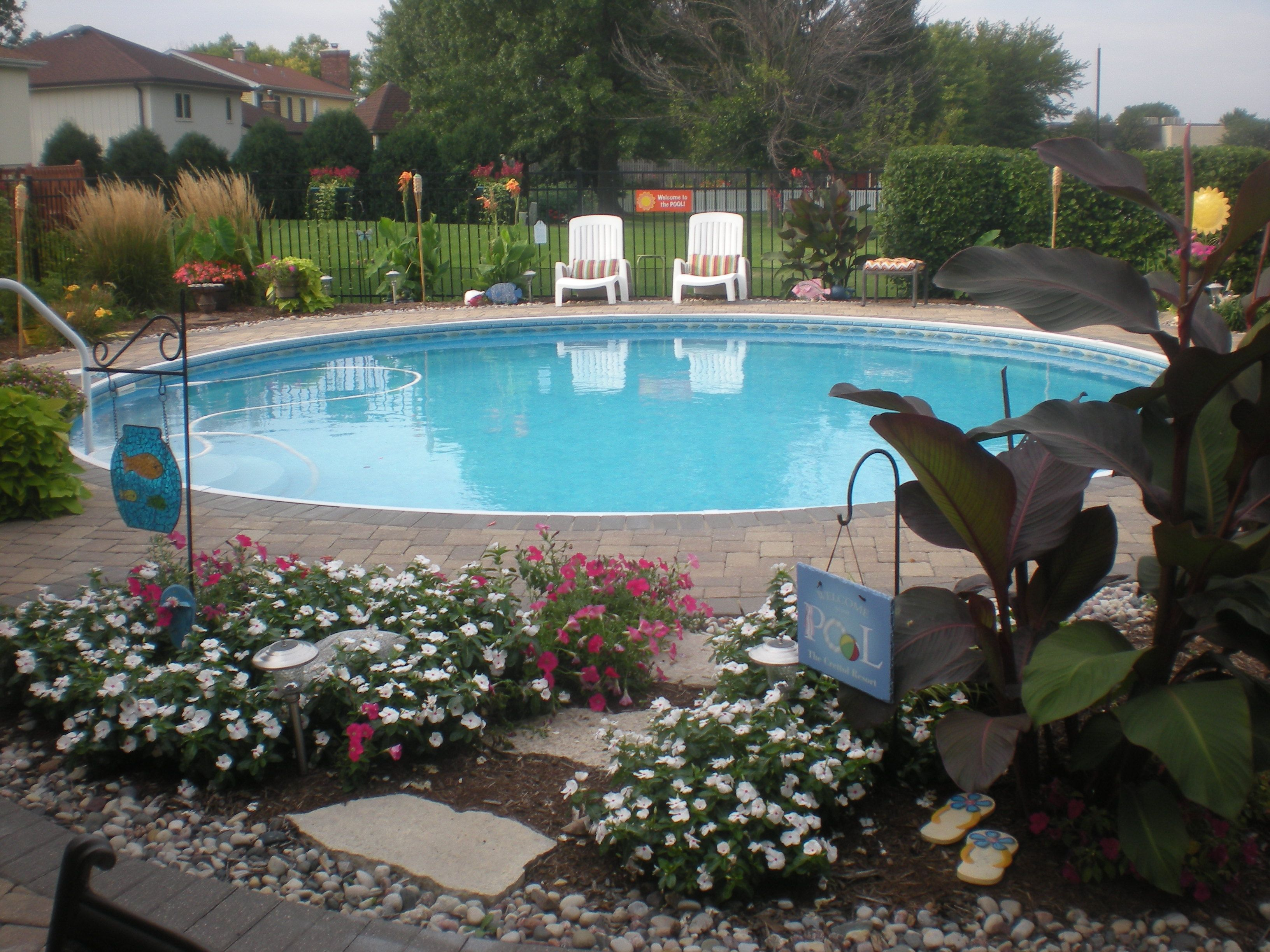 Fesselnde Eingebauter Pool Galerie Von Check Out This Beautiful Backyard Retreat With
