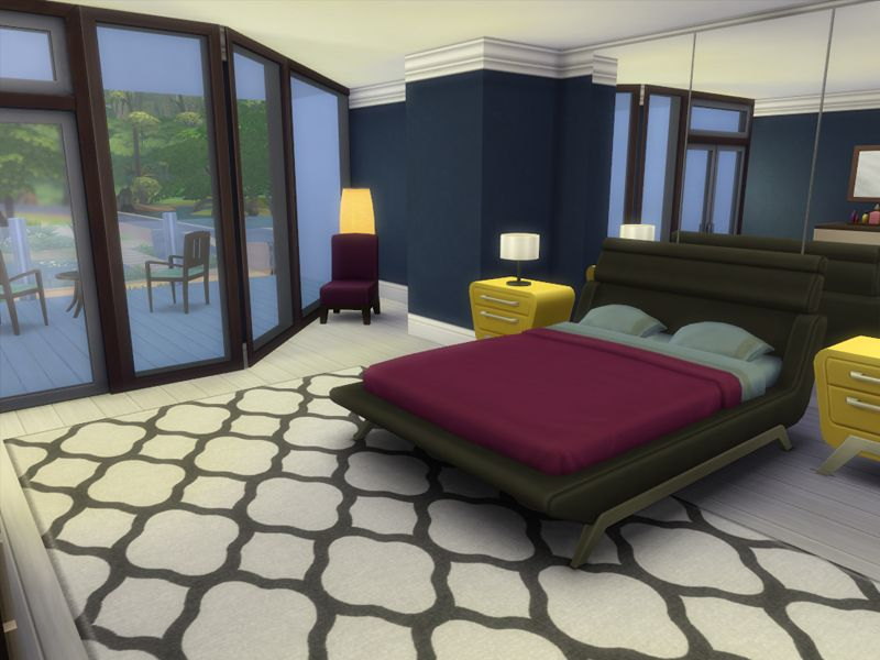 a modern family house with 3 bedrooms 3 baths found in tsr category rh pinterest com
