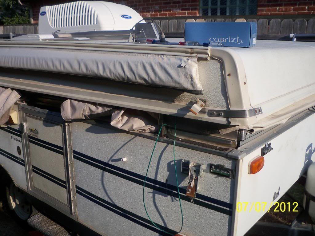 Rockwood Roof Repair Tent Trailer Pop Up Trailer