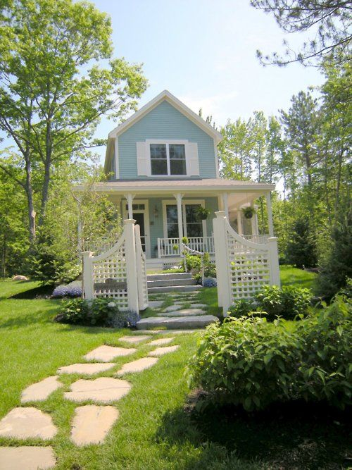 pretty pathway over sized entrance gate and a big wraparound porch rh pinterest com