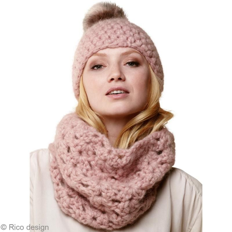 Bonnet au crochet et charpe snood le tuto id es conseils et tuto crochet et tricot bonnet - Echarpe au crochet facile a faire ...