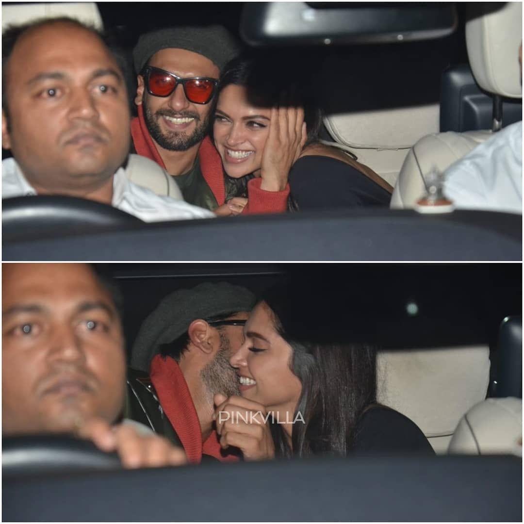 Deepika Padukone And Ranveer Singh Can T Seem To Get Enough Of Each Other Aren T They Adorable Pinkvi Deepika Padukone Priyanka Chopra Wedding Ranveer Singh