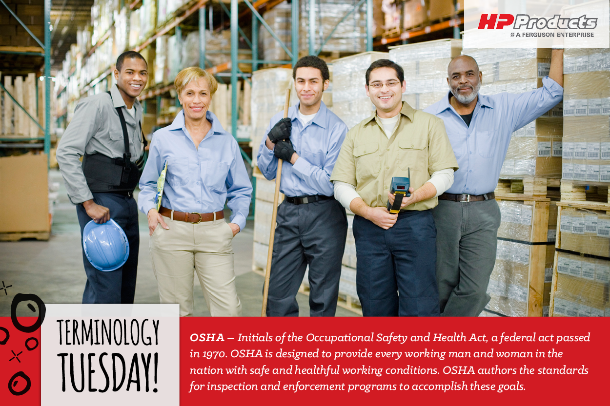Occupational Safety and Health Act, also known as OSHA