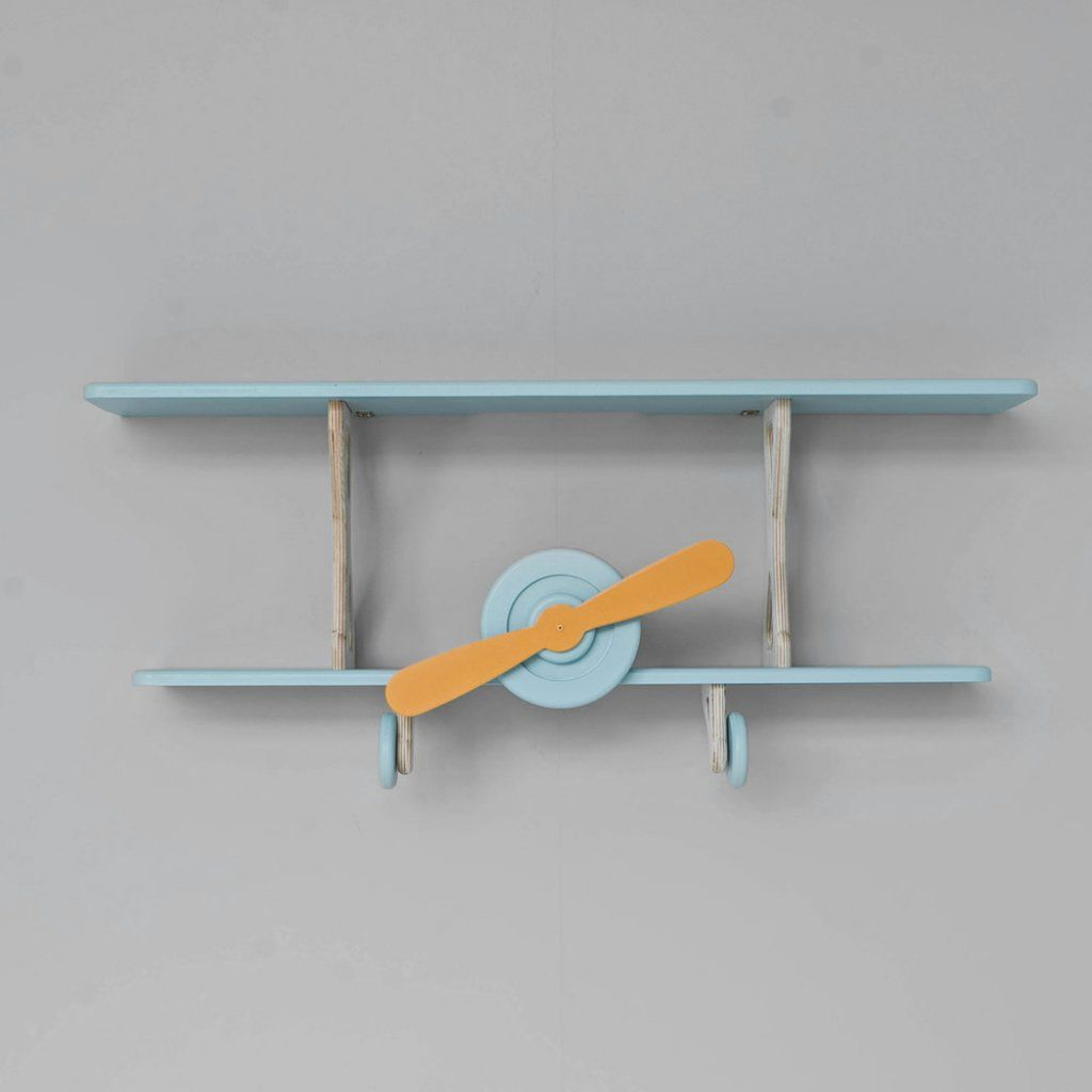 Etagere Avion Chambre Bebe avion étagère bleu mint en bois | par petite amélie