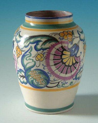 Poole Pottery Vase 1920s30s Poole Pottery Pinterest Pottery