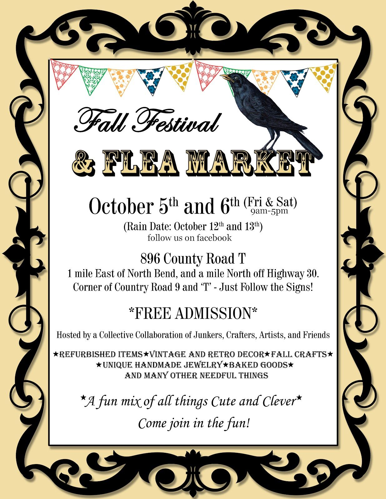 flyer border templates 19 gallery images for fall festival templates