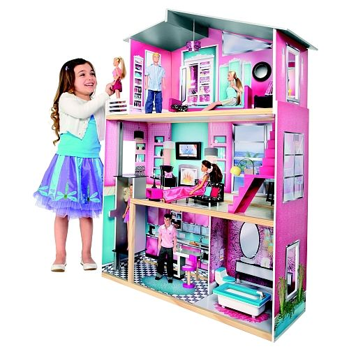Universe of imagination loft de r ve maison de poup es for Cuisine bois toys r us