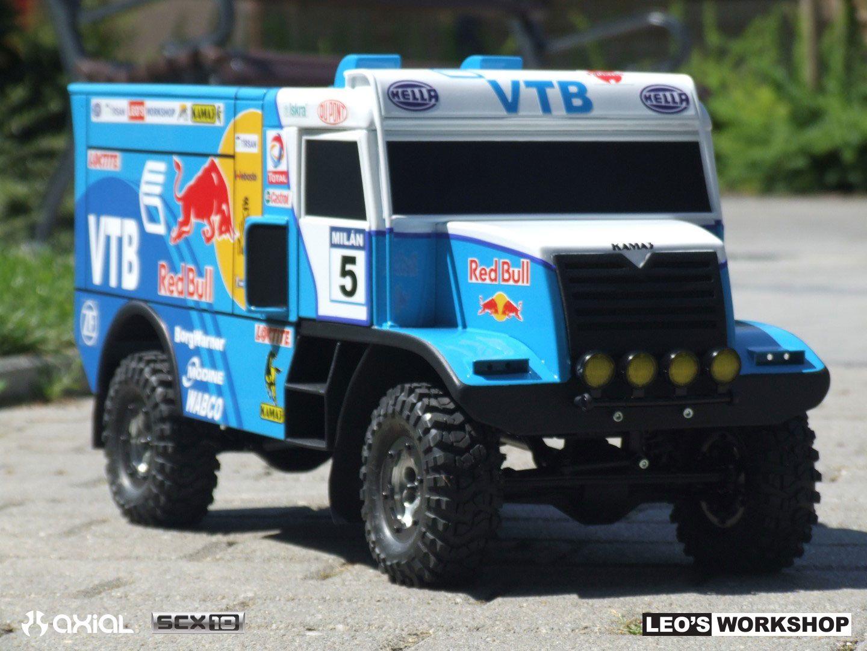 Custom Build Scx10 Dakar Rally Truck By Leo Work