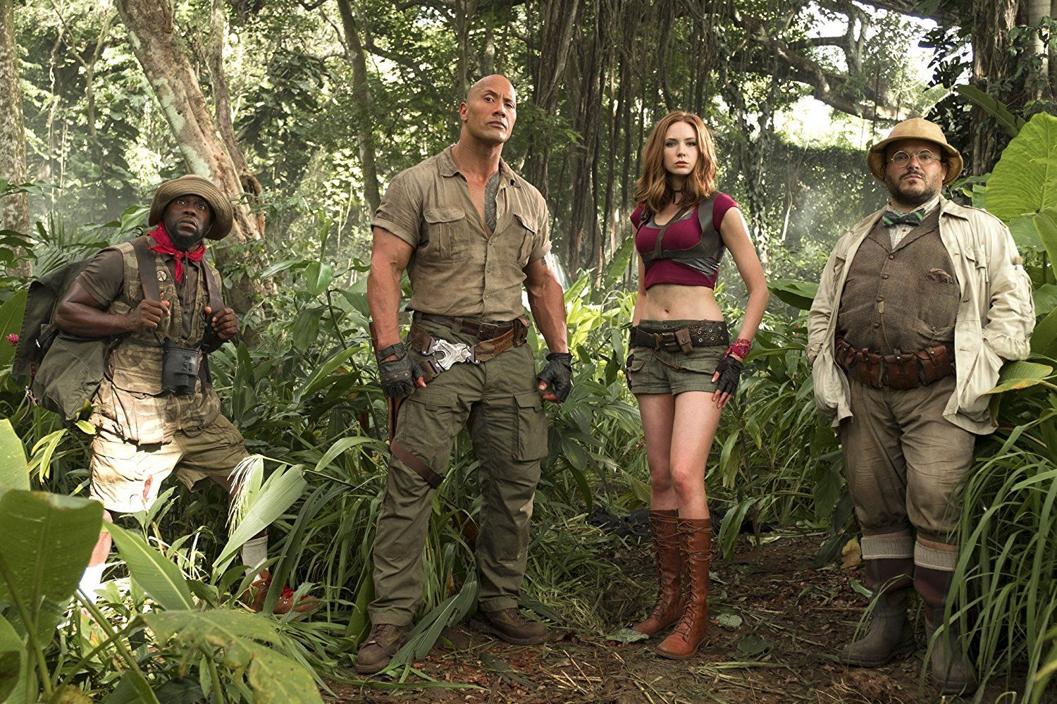 Halloween Costume Ideas Inspired By Movies And Television Jumanji Movie Welcome To The Jungle Karen Gillan