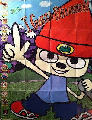 2fd9c06b96d Parappa the Rapper US poster