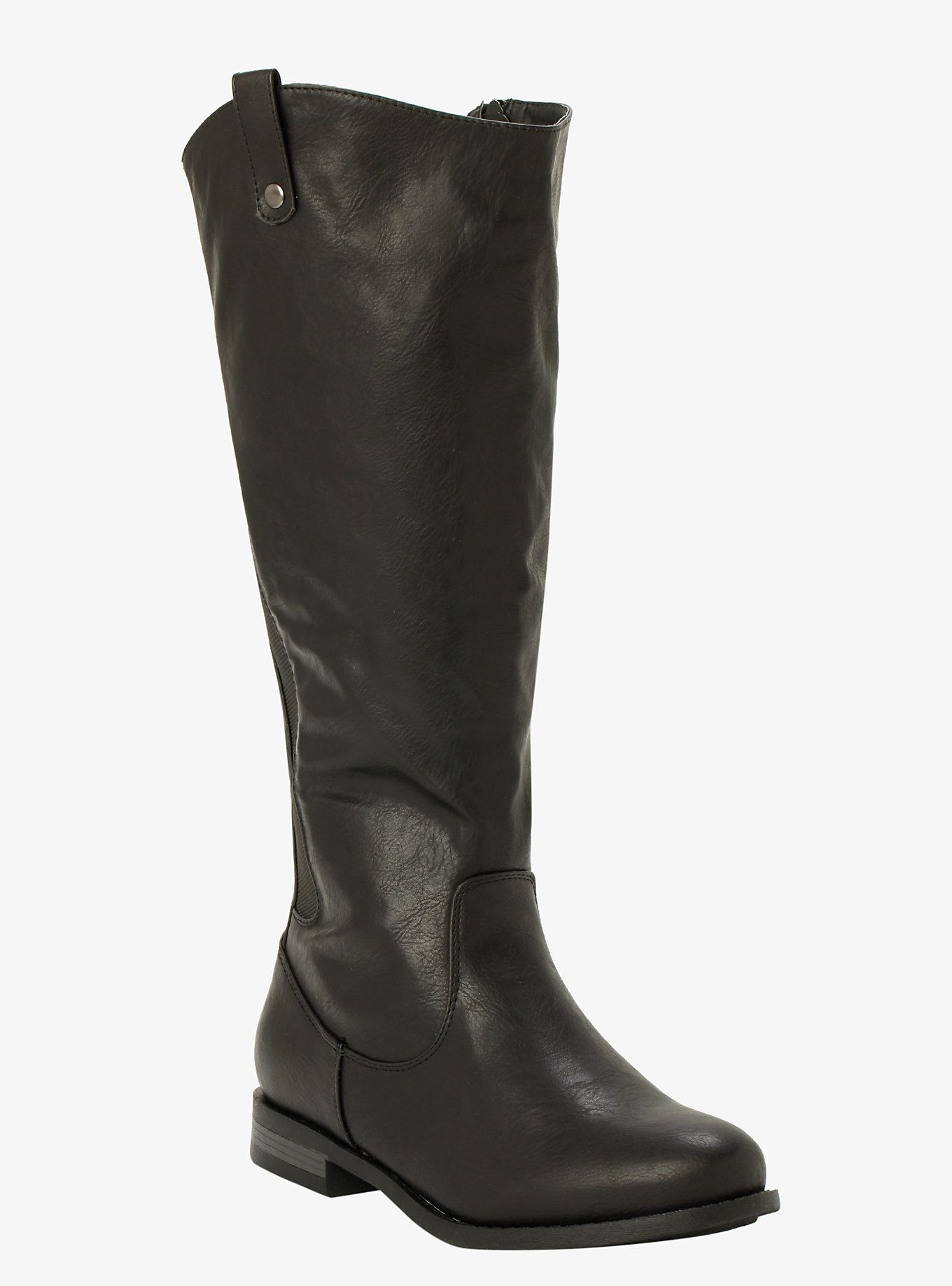 065c2372afb Zippered Tall Boots (Wide Width   Wide Calf)