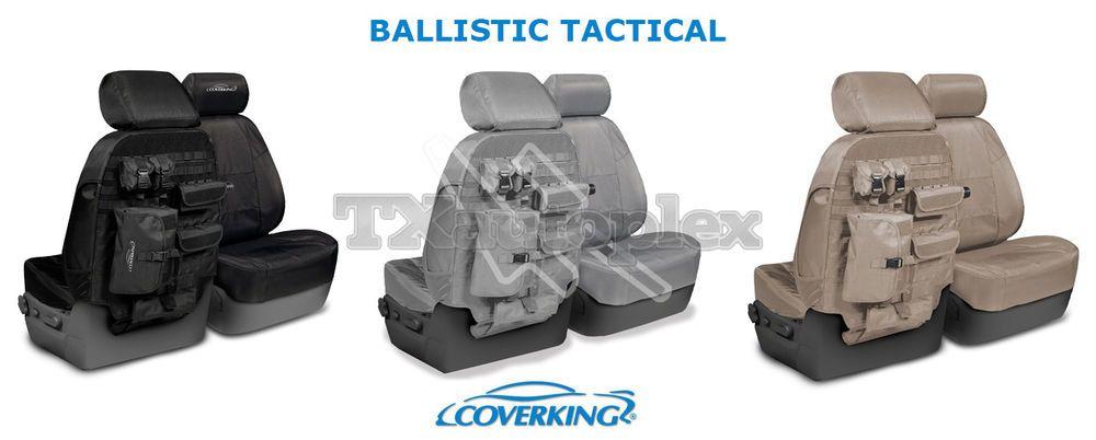 Coverking Ballistic Tactical Custom Seat Covers For Dodge Ram 1500 Coverking Truck Accessories Truck Storage New Trucks