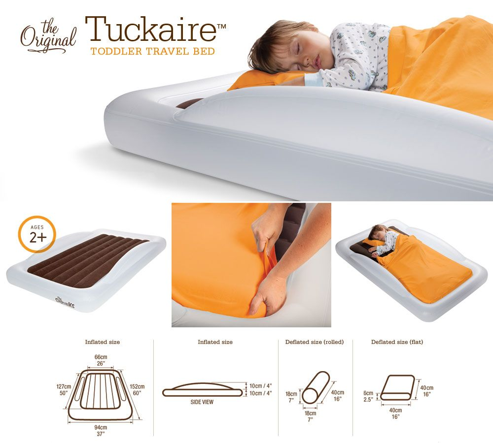 The Shrunks Toddler Travel Bed Is Perfect For Sleepovers And Kids Transitioning To A Big Feel Secure Cozy Right At Home