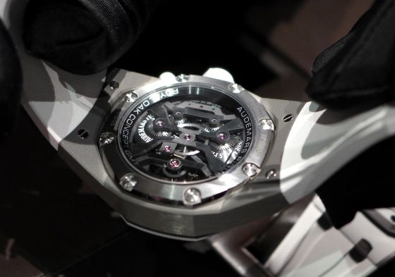 Sihh 2014 Audemars Piguet Royal Oak Concept Gmt Tourbillon Live