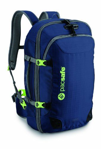 a4cfb8c53093 Pacsafe Venturesafe 45L GII AntiTheft CarryOn Travel Pack Navy Blue   Check  this awesome product by