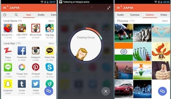 New Zapya 4 1 Apk For Android Mobiles Free Download | latest
