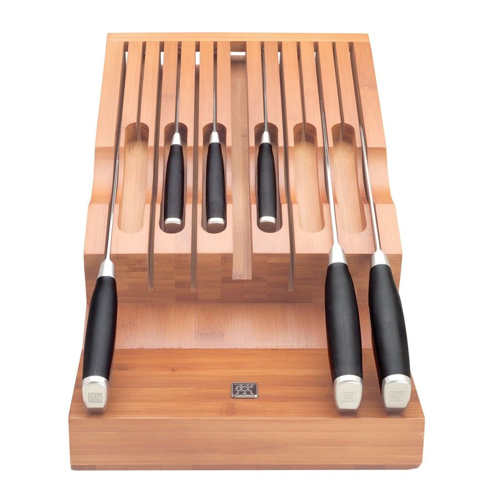 Zwilling J A Henckels Twin Bamboo Knife Storage For Drawer