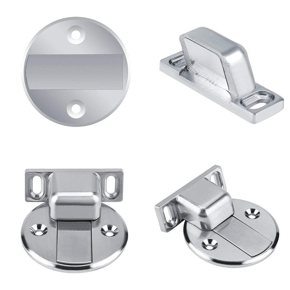 Stainless Steel Invisible Magnetic Doorstop Door Stop Door Stopper Stainless Steel Doors
