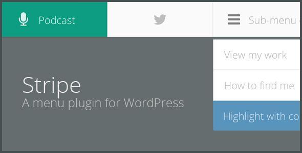 Horizon - Menu Bar Plugin for WordPress | WordPress plugins design, Plugins, WordPress