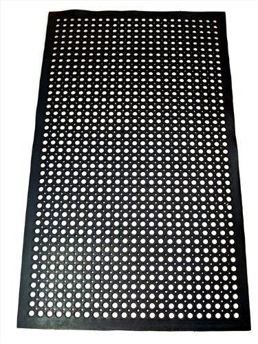 Best Kictchen Rugs New Star 1 Pc Heavy Duty Black 36x60 Inch Restaurant Bar Antifatigue Rubber Floor Mat Con Rubber Flooring Rubber Floor Mats Floor Mats