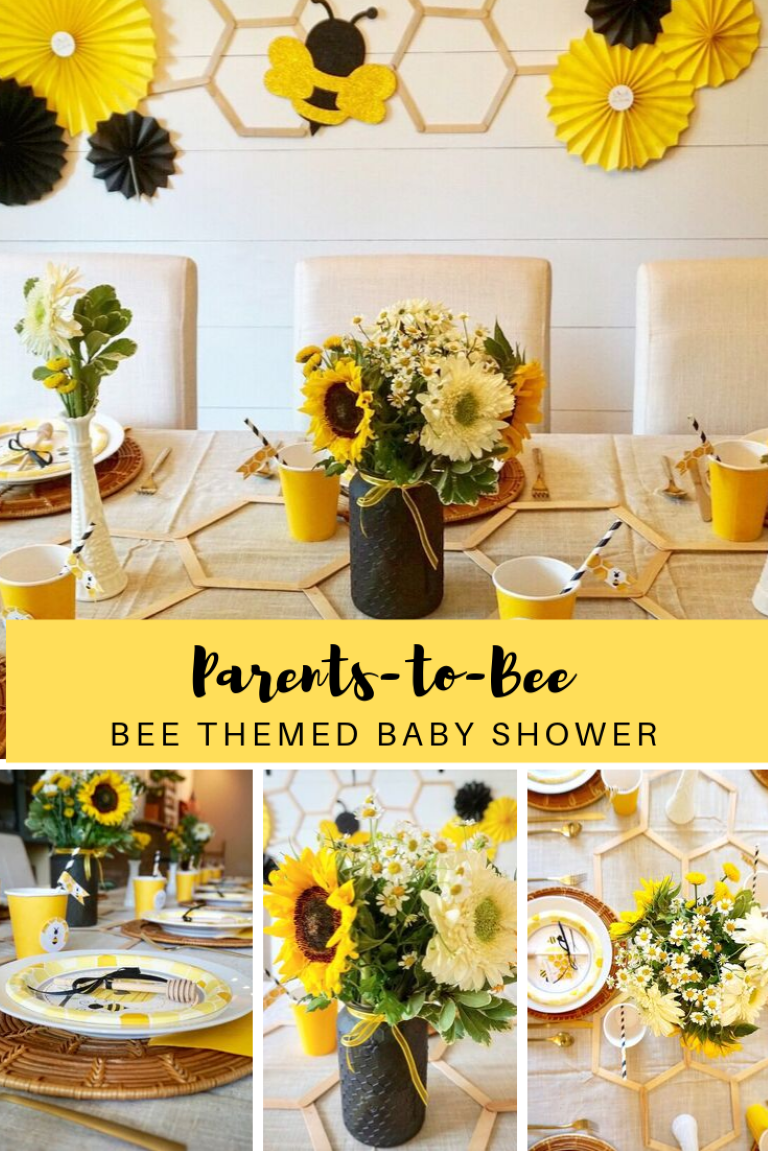 Parents-to-Bee: A Bee Themed Baby Shower